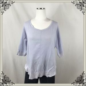 Postmark Lilac Knit Top #2511